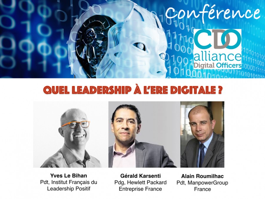 Conférence: quel leadership à l'ère digitale ?