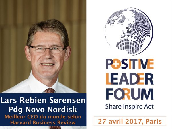 Le meilleur CEO du monde au Positive Leader Forum, le 27 avril à Paris !