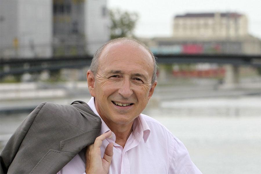 Gérard Collomb – Président de la Métropole de Lyon