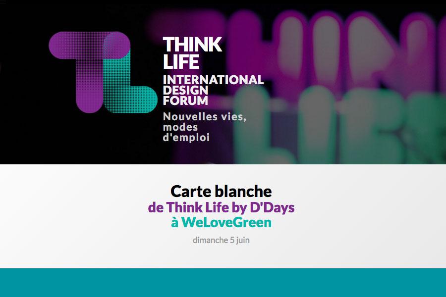 L'IFLP présent au Think Life Paris le 1er Juin