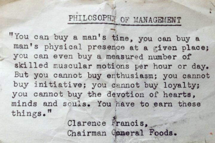 Le regard du philosophe André Comte-Sponville sur le management