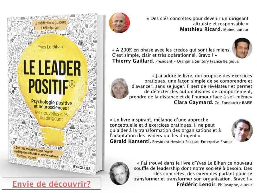 Découvrir les clés du modèle du Leader positif