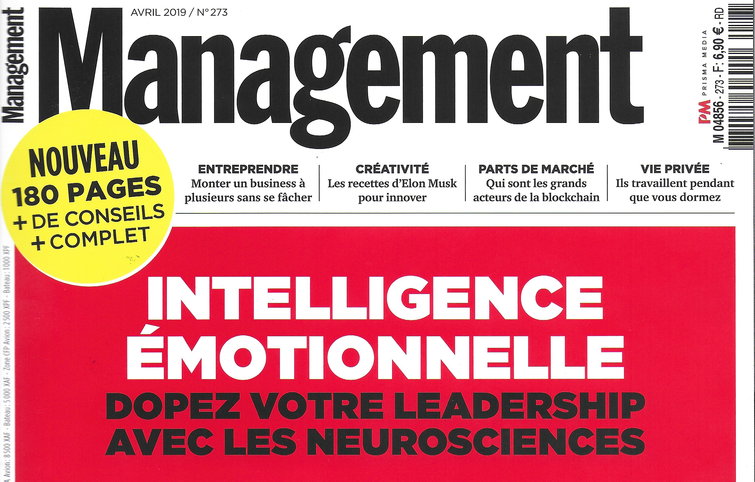 LEADER POSITIF et NEUROSCIENCES: Yves Le Bihan interviewé par MANAGEMENT