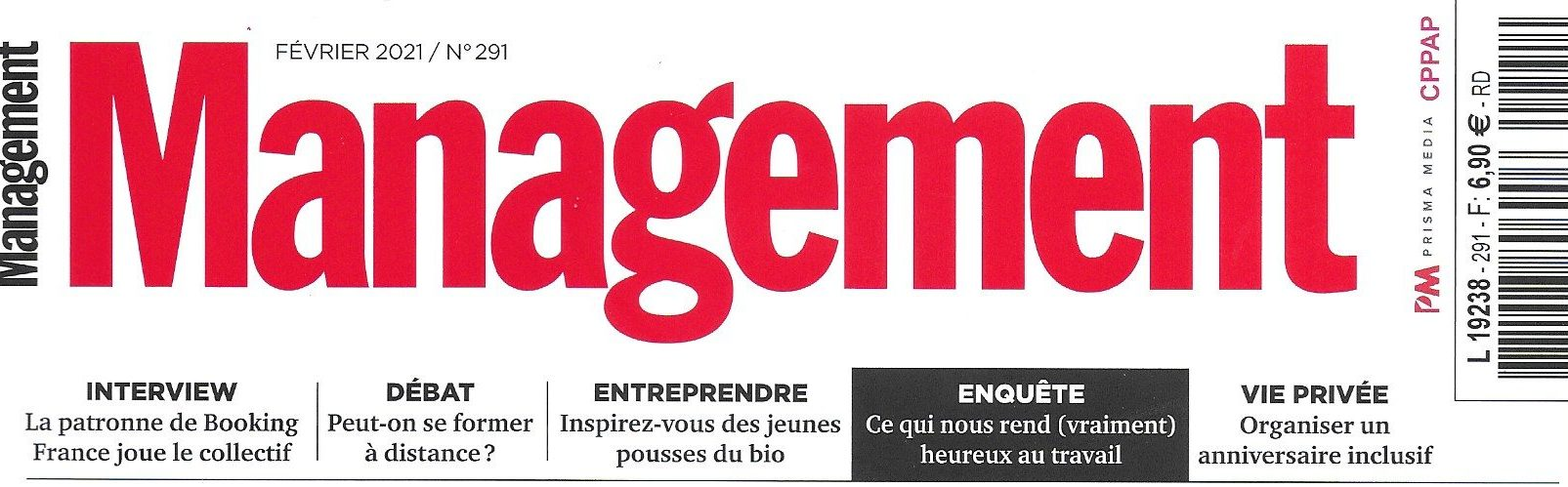 L'Institut cité dans Management: méditer face à l'incertitude ?
